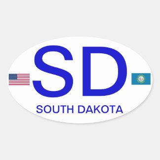 Dakota del Sur * pegatina para el parachoques del