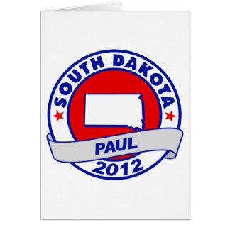Dakota del Sur Ron Paul Tarjetas