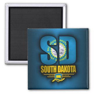 Dakota del Sur (SD) Imán Cuadrado