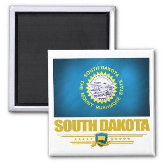 Dakota del Sur (SP) Imán Cuadrado