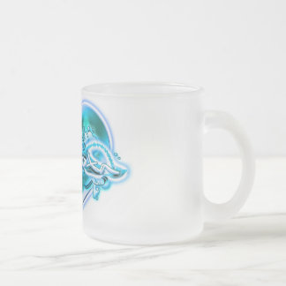 Dakota Frosted Glass Coffee Mug