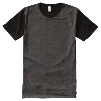 Dakota Mahogany - Dramatic All-Over-Print Shirt