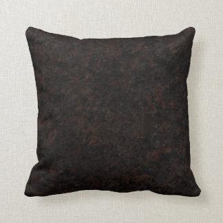 Dakota Mahogany - Dramatic Throw Pillow