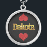 """Dakota necklace<br><div class=""""desc"""">Beautiful necklace for all those who love Dakota. Do you love Dakota or do you know someone who loves Dakota? It&#39;s also a great gift for Dakota,  of course.</div>"""