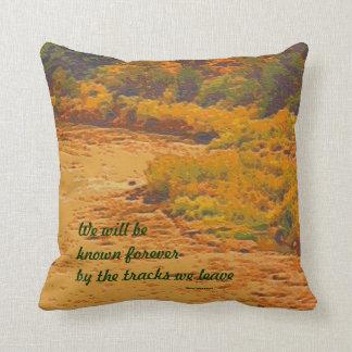 Dakota People proverb Throw Pillow
