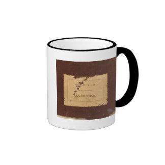 Dakota Territory post route map Coffee Mugs