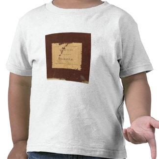 Dakota Territory post route map T-shirt