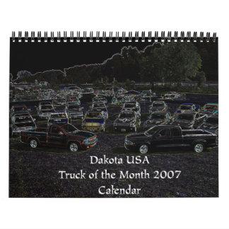Dakota USA 2007 Truck of the Month Calendar