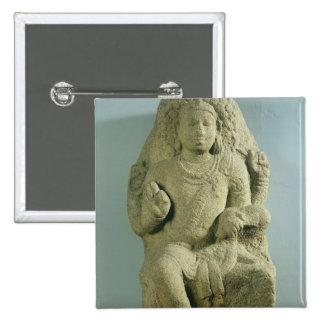 Dakshinamurti, Tamil Nadu, Pallava dynasty (granit Pinback Button