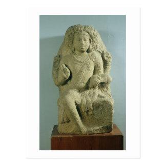 Dakshinamurti, Tamil Nadu, Pallava dynasty (granit Postcard