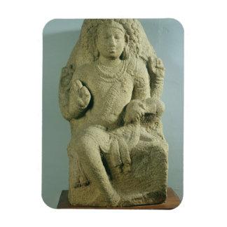 Dakshinamurti, Tamil Nadu, Pallava dynasty (granit Rectangular Magnet
