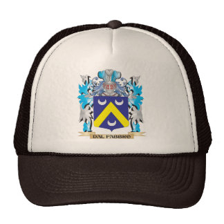 Dal-Fabbro Coat of Arms - Family Crest Hat