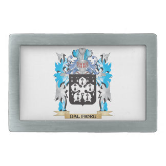 Dal-Fiore Coat of Arms - Family Crest Belt Buckle