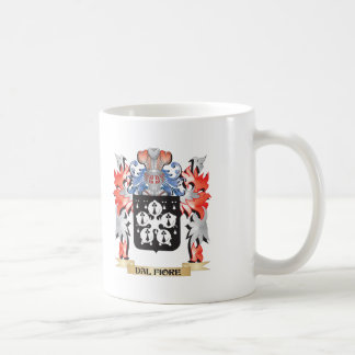 Dal-Fiore Coat of Arms - Family Crest Coffee Mug