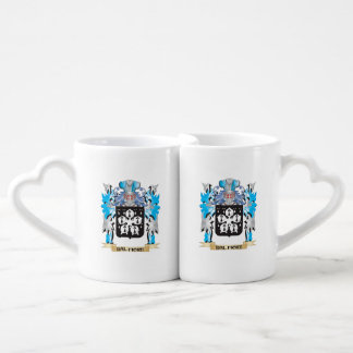 Dal-Fiore Coat of Arms - Family Crest Couple Mugs