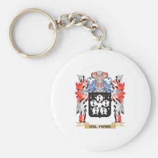 Dal-Fiore Coat of Arms - Family Crest Keychain