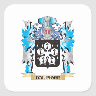 Dal-Fiore Coat of Arms - Family Crest Sticker