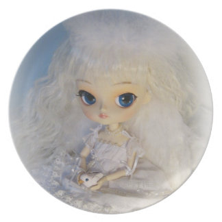 Dal Milch Guardian Angel Doll Collector Plate