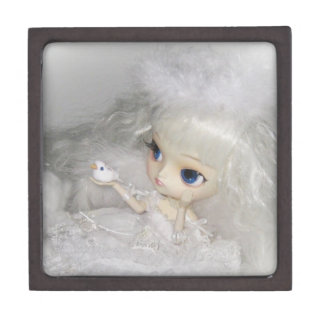 Dal Milch Guardian Angel Doll Jewelry Gift Box