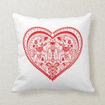 Dala Heart Pillow