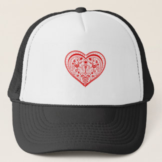Dala Heart Trucker Hat
