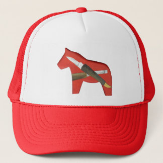 Dala Horse Carving Hat