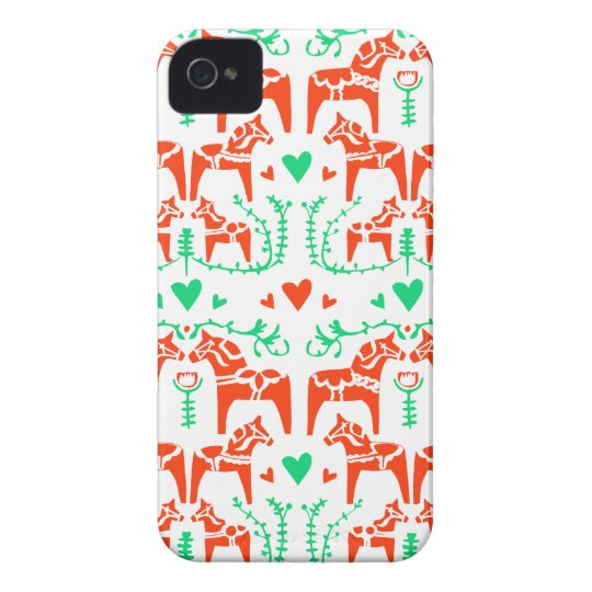 Dala Horse iPhone 4 Case