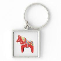 Dala Horse Keychain