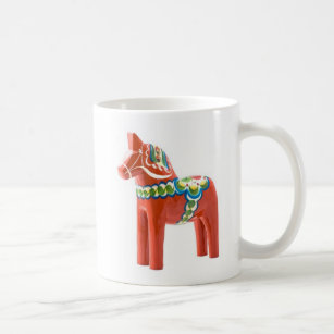 Mug Sweden Dala HorseMade Coffee In ARL45j