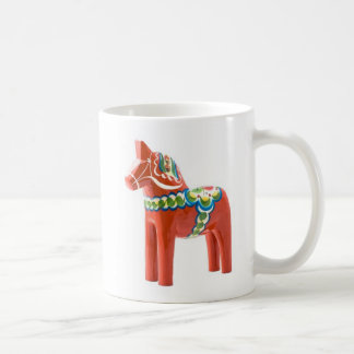 Dala horse, Made in Sweden Coffee Mug
