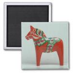DALA HORSE magnet (red)