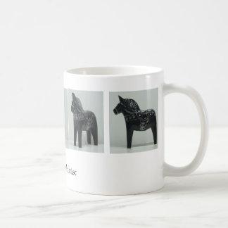 DALA HORSE mug - black