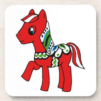 Dala Horse Pony Coaster
