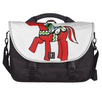 Dala Horse Pony Laptop Bags