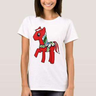 Dala Horse Pony T-Shirt