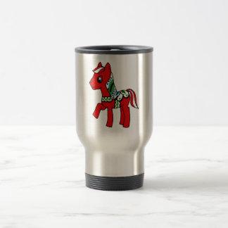 Dala Horse Pony Travel Mug