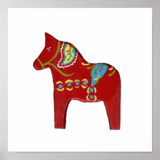 Dala Horse Poster
