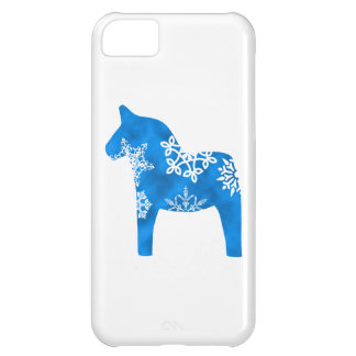 Dala Horse Snowflake Cover For iPhone 5C