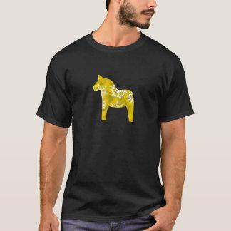 Dala Horse Snowflake T-Shirt