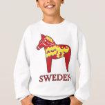 Dala Horse – Sweden 060315-1.png Sweatshirt