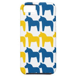 Dala Horse Sweden Flag iPhone 5 Case