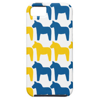 Dala Horse Sweden Flag iPhone SE/5/5s Case