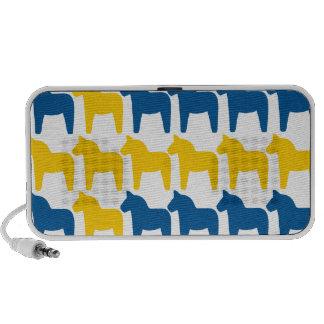 Dala Horse Sweden Flag Notebook Speaker