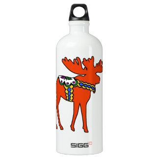 Dala Moose Aluminum Water Bottle