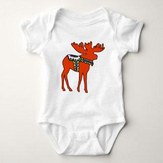 Dala Moose Baby Bodysuit