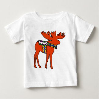 Dala Moose Baby T-Shirt
