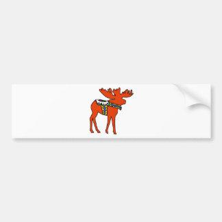 Dala Moose Bumper Stickers