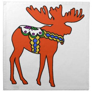 Dala Moose Cloth Napkin