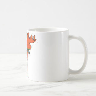 Dala Moose Coffee Mug