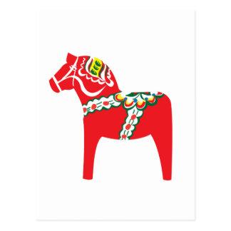 Dalahäst | Dala horse Postcard